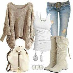 Hermosa conbinación #lookstyle #boots #fashion