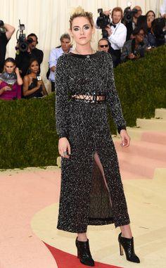 Kristen Stewart from Met Gala 2016: Red Carpet Arrivals  In Chanel