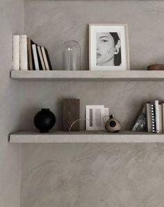 52 Super Ideas For Kitchen Shelves Decoration Interiors Kitchen Shelf Decor, Kitchen Cabinet Organization, Kitchen Shelves, Wall Shelves, Shelving, Kitchen Ideas, Home Design, Kitchen Island With Seating, Bookshelf Styling