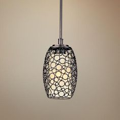 "Kitchen island lighting!    Maxim Meridian 7"" Wide Umber Bronze Mini Pendant Light 