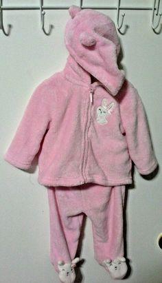 dc65e0299 Little Wonders Girl Plush Pink 2 Piece Set 3-6 Months Dressy Baby Infant…