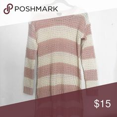 High Low Long Sleeve Sweater This is a high in the front & low in the back sweater ! It's never been worn ! It would be perfect with skinny jeans/leggings with boots ! This is in a size medium & it's in great condition ! Sweaters Crew & Scoop Necks