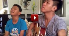 These boys flew all the way from the Philippines to record this beautiful video. Just listen to them praise God with their natural gifts, it's truly wonderful.