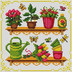 downloaded On the Shelves.  Tons of FREE CROSS-STITCH PATTERNS at this site: http://cross-stitchers-club.com/?code_avantage=uucqid      Plus, if you click on this link, http://cross-stitchers-club.com/?code_avantage=uucqid , you'll automatically receive a gift when you subscribe. I use this site all the time; there are hundreds of all different types of patterns, and there are new patterns added everyday. It's really worth a look.