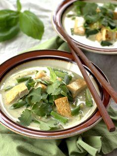 Thai Green Curry with Tofu and Veggies