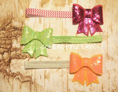 Cute Bows and headbands