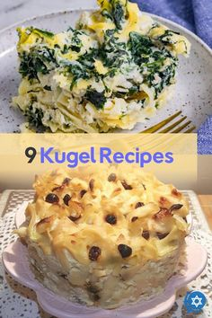 Sweet or savory, side dish or dessert - regardless of how you think of Jewish kugel, you will find one here that will delight your family. The list includes traditional, gluten-free, dairy-free, and vegan kugel options. #kibitzspot