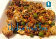 Chicken Fried Rice for the Diva Dog.  This Food Friday Recipe was inspired by a recipe I found on Pinterest.  I made a big batch for the humans... YUM.  Then modified the recipe for my Diva Dog.  Go ahead, treat you pup to a bowl full this weekend.