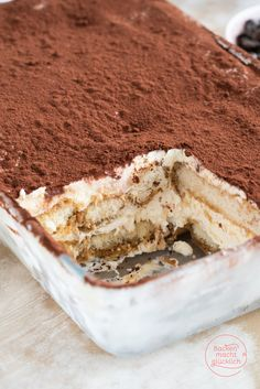 Klassisches Tiramisu - Famous Last Words Low Carb Recipes, Baking Recipes, Tiramisu Dessert, Dessert Sauces, How Sweet Eats, Food Inspiration, Italian Recipes, Deserts, Food Porn