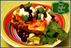 Sweet Tea and Cornbread: Taco Stuffed Taters!