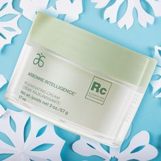 Your face deserves extra TLC during the cold months. Try Arbonne Intelligence® Rejuvenating Cream for a luxurious dose of moisture that helps revive the skin.