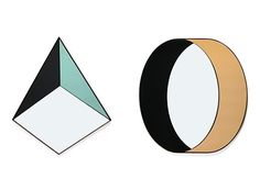 Pyramid and Ring Shape Mirrors — ACCESSORIES -- Better Living Through Design