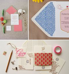 add a custom pattern to your invitation suite