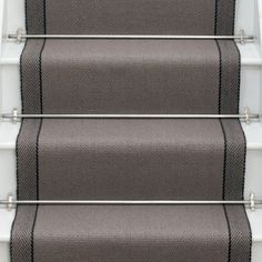 Products | Runners for stairs and halls | Neutral/Black - Roger Oates Design