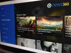 Android TV app #grid #image #tile