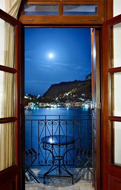 Kastellorizo island. Room with a view. Please take me there soon...