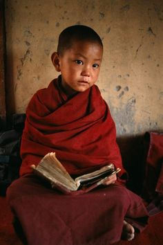 young buddhist