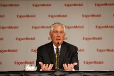 Exxon Mobil CEO Rex Tillerson, President-elect Donald Trump's pick for secretary of state, doesn't have a problem with fracking until it affects him, says a consumer rights group.