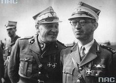 From left to right: General. S. Maczek, Lieutenant Colonel. F. Skibiński.