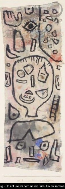 Zur Erinnerung An Ein Verbrechen (In Memory Of A Crime) - Paul Klee