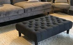 Find many great new & used options and get the best deals for Matera large Chesterfield Style deep Matching Buttoned Footstool/Coffee Table at the best online prices at eBay! Free delivery for many products!
