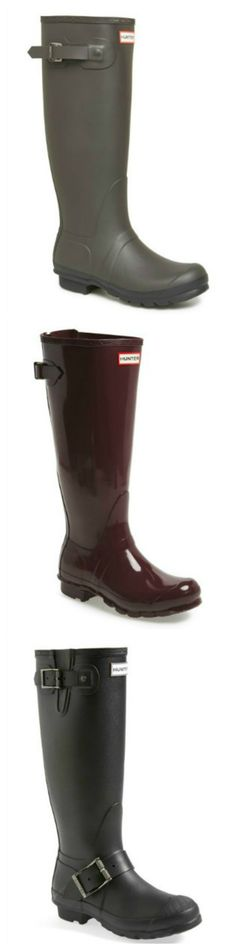 Trying to decide which Hunter boots to sport this fall...
