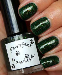 NAILTASTIC: Purrfect Pawlish Green Tea