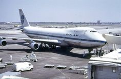 The 22nd Aniversary of Pan Am's Downfall on December 4, 1991-  Pan Am 747-100