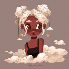 My version of 💫 I really liked the original character, she looks so cozy for me and when I saw this illustration I already… Cartoon Girl Drawing, Girl Cartoon, Cartoon Drawings, Cute Art Styles, Cartoon Art Styles, Art Drawings Sketches, Cute Drawings, Art Style Challenge, Art Inspiration Drawing