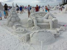 Sand Sculpting Fort Myers