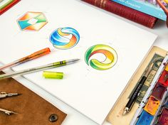 20 Awesome Logo Sketches for Your Inspiration