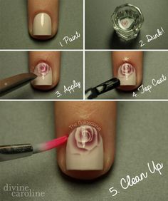 Things You Need To See If You Do Your Nails At Home Dryer - How to make nail decals at home