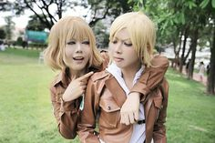 Hitch & Annie From Attack on titan Inushio as Hitch Facebook www.facebook.com/profile.php?id=282864985088949 Codplayer Akira Ratchawipa as Annie Photo by NewNattapLife Snk Cosplay, Naruto Cosplay, Annie Leonhart, Cool Costumes, Cosplay Girls, Attack On Titan, Akira, The Incredibles, Facebook