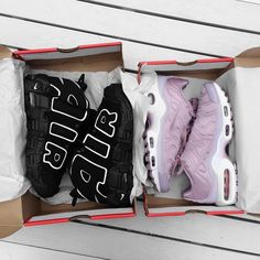 Sneakers femme - Nike Air and Nike Air Max Plus satin (©m.e.r.ce.d.e.z)
