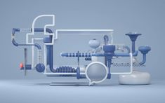 Creative Graphic Experiments Playing with Colors and Forms – Fubiz Media