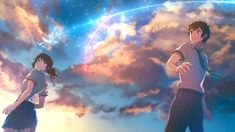 Kimi no Na Wa [1920x1080] Need #iPhone #6S #Plus #Wallpaper/ #Background for #IPhone6SPlus? Follow iPhone 6S Plus 3Wallpapers/ #Backgrounds Must to Have http://ift.tt/1SfrOMr