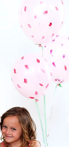 There are a million (okay at least 25) fun ways to update balloons for parties that will easily make your day feel thoughtful and special. I believe best ideas are often the simplest – polka dots, decals, and paint, to name a few. These brushstroke balloons are just about as easy as it gets. Simple …