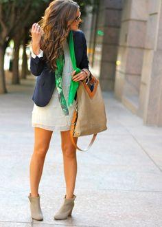like the blazer with the dress