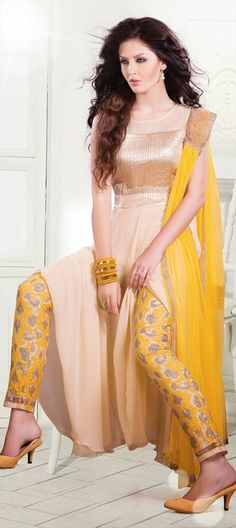 415475: Look at the designer #Pants. Aren't they the perfect head-turner? Shop now! #anarkali #asymmetry
