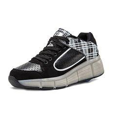 iBaste Schuhe mit Rollen Super leicht Rollschuhe Drucktaste Kinder Jungen Mädchen Sportschuhe Tanzschuhe Sneaker Turnschuhe Skaterschuhe - http://on-line-kaufen.de/ibaste-9/ibaste-schuhe-mit-rollen-super-leicht-rollschuhe