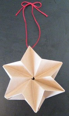 DIY Origami Star Decorations » The Beat That My Heart Skipped – A blog dedicated to daily design inspirations. By Rohini Wahi.