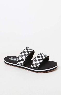 55edeefc373 Vans Women s Cayucas Slide Sandals  ad Cute Sandals
