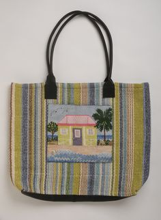 Nevis House w/ Fisher bag by BB Needlepoint Design