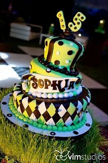 Mad Hatter cake for quince