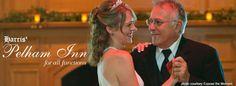 Wedding receptions at Harris Pelham Inn