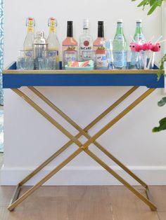 A Blue Bureau + My Favorite Paints for Furniture   Centsational Girl