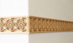 kumiko lattice woodwork technique - Google Search