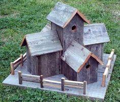 Beautiful Pallet Bird House Ideas | Pallets Designs #birdhouseideas #diybirdhouse