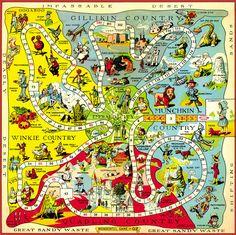 Maps of Oz - Oz Wiki - Wikia