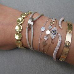 Single Disc Bracelet – Stephanie Gottlieb Fine Jewelry